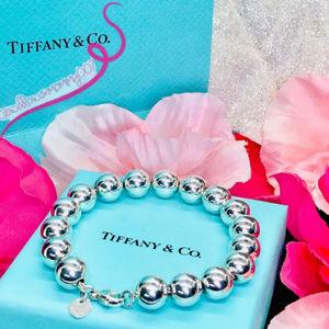 """MINT T&Co. Tiffany HardWear 10mm Ball Bracelet, 7"""""""